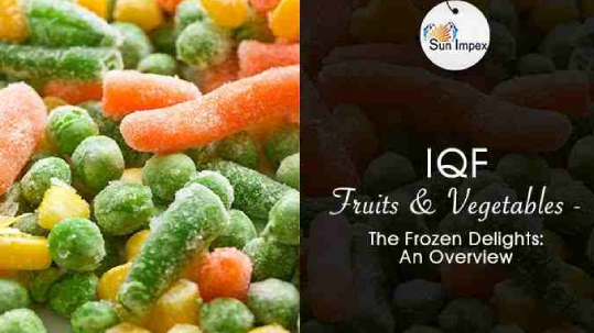 iqf fruits and vegitables